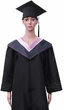 Amosfun Adult Graduation Gown Stole and Cap with