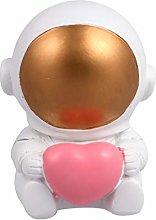 Amosfun Astronaut Cupcake Toppers Resin Astronaut