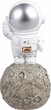 Amosfun Astronaut Figurine Resin Planet Spaceman