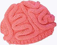 Amosfun Brain Hat Knit Halloween Brain Hat Novelty