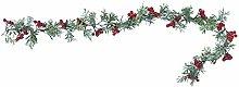 Amosfun Christmas Garland Artificial Winter Pine