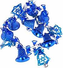 Amosfun Christmas Garland Ornament with Jingel