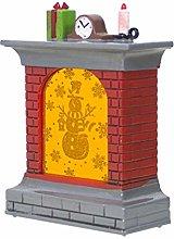 Amosfun Christmas led Light up Fireplace Ornaments