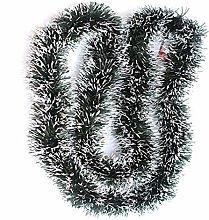 Amosfun Christmas Pine Garland Tinsel Garland 2M