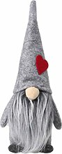 Amosfun Christmas Santa Gnome Plush Doll Tomte Elf