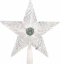 Amosfun Christmas Tree Topper LED Light up Star