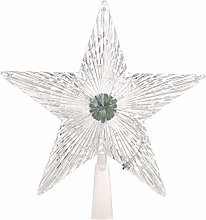 Amosfun Christmas Tree Topper LED Light up Star