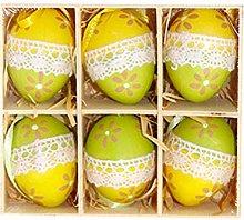 Amosfun Easter Egg Hanging Ornamnets Plastic Eggs