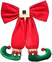 Amosfun Elf Legs Hanging Decoration Christmas Tree
