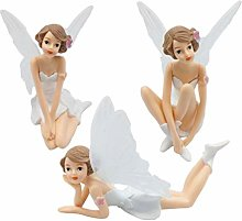 Amosfun Fairy Cake Topper Angel Cupcake Decoration