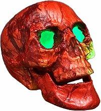 Amosfun Halloween Skull Head Ornaments Peeling