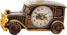 Amosfun Retro desk clock Vintage Car Electronics