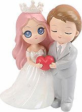 Amosfun Romantic Couple Figurine Resin Cartoon