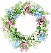 Amosfun Seasonal Wreath Adornment Garland Wedding