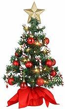 Amosfun Tabletop Christmas Tree Artificial Mini