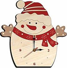 Amosfun Wall Clock Christmas Countdown Clock