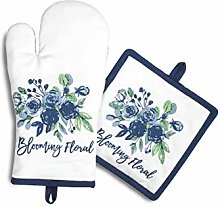 AMOUR INFINI Set Of Oven Mitt and Pot Holder