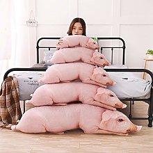 AMOYER 1pc 50cm Simulated Sleeping Pig Plush