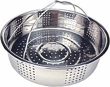 AMOYER Kitchen Colander Steamer Stainless Steel