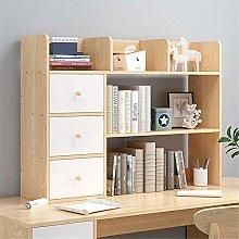 AMRT Desktop bookcase Desk Organizer with Drawer
