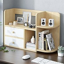 AMRT Desktop bookcase Desk Storage Shelf Organizer