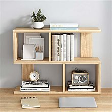AMRT Desktop bookcase Multipurpose Bookshelf Wood