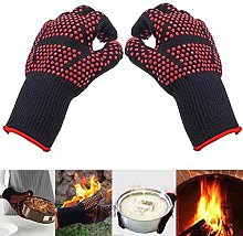 Amrta 1472℉ Extreme Heat Resistant BBQ Gloves,