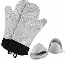 Amrta Silicone Oven Mitts And Pot Holders Mini