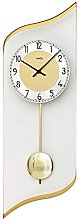 AMS 7437, pendant clock for living room, curved