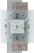 AMS 9443 Quartz Wall Clock with Levels Design Faux