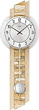 AMS Designer Pendulum Clock with Natural Stone