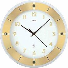 AMS Uhrenfabrik Clock, Silver, 31 x 4 x 215 cm