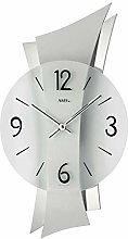 AMS Uhrenfabrik Clock, Silver, 43 x 6 x 426 cm