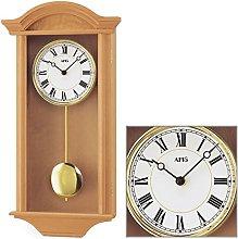 AMS Uhrenfabrik Clock, Silver, 53 x 10 x 53 cm