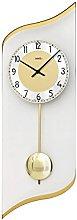 AMS Uhrenfabrik Clock, Silver, 55 x 4 x 362 cm