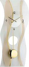 AMS Uhrenfabrik Clock, Silver, 60 x 7 x 330 cm
