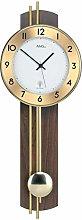 AMS Uhrenfabrik Clock, Silver, 62 x 8 x 186 cm