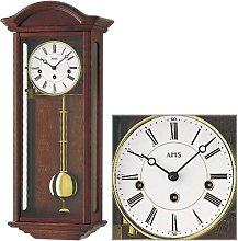 AMS Uhrenfabrik Clock, Silver, 64 x 12 x 32 cm