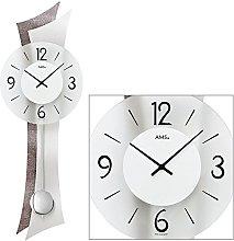 AMS Uhrenfabrik Clock, Silver, 70 x 8 x 359 cm