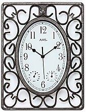 AMS Wall Clock, White