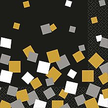 amscan 10022242 Disposable, Sparkling Confetti