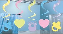 Amscan Baby Shower Swirl Decoration (One Size)