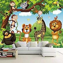 AMTTGOYY 3D Photo Wallpaper for Kids Room Cartoon