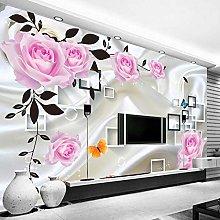 AMTTGOYY Photo Wallpaper for Bedroom Walls 3D Silk