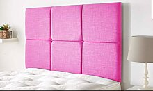 AMU 2FT6 Bed Headboard in Crushed Velvet WITH