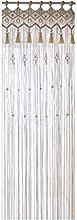 Amusingtao Macrame Curtain Weddings Kitchen Home