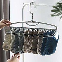 Amusingtao Socks Hanger 4pcs Multifunction