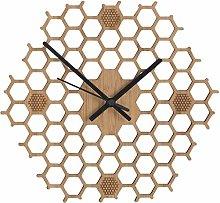 Amusingtao Wall Clock Quartz Bee Gift Minimalist