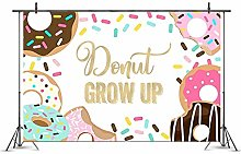 Amycute 6.6x5ft Donut Grow Up Backdrop, Baby