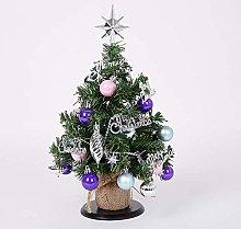 AMYZ Bling Artificial Christmas Tree,2 Pack Mini